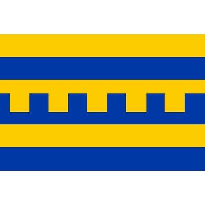 Bootvlag Harderwijk Bootvlag