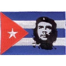 Patch Cuba Che Guevara vlag patch