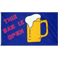 Vlag The Bar is Open vlag