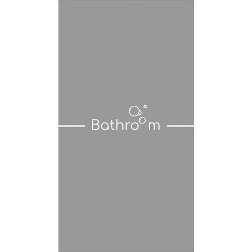 Raamfolie Bathroom