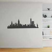 Muursticker New York  skyline