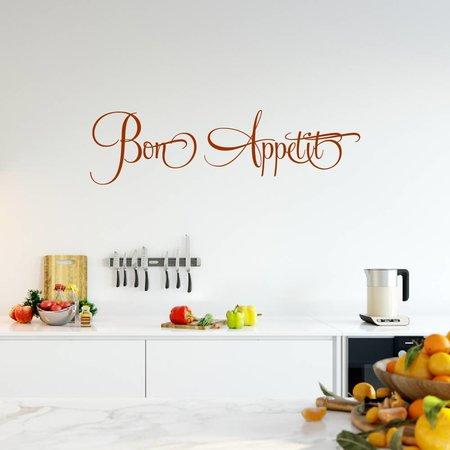 Muursticker Bon appetite