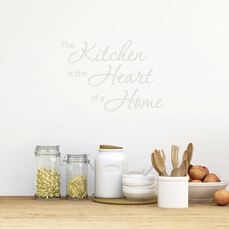 Muursticker The kitchen is the heart of a home