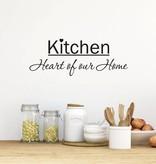 Muursticker Kitchen heart of our home