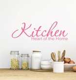Muursticker Kitchen heart of the home