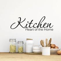Muursticker Kitchen heart of the home