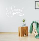 Muursticker Home sweet home