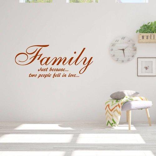 Muursticker family