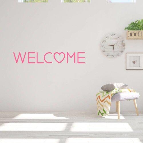 Muursticker Welcome