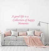 Muursticker a Good life
