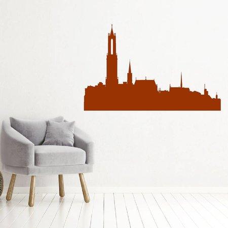 Muursticker Utrecht