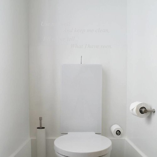 Use me well toilet