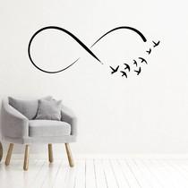 Muursticker infinity met vogels