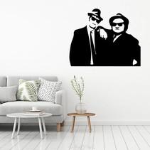 Muursticker blues brothers