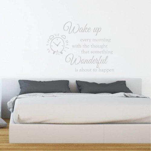 Muursticker Wake up wonderful