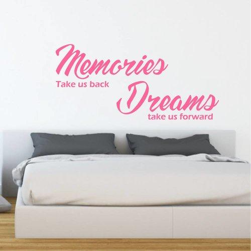 Muursticker Memories Dreams