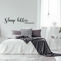 Muursticker Slaap lekker droomzacht