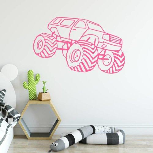 Muursticker Monster truck