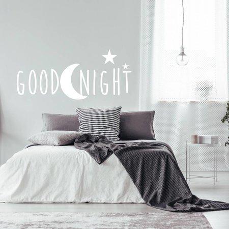 Muursticker Goodnight