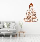 Muursticker buddha