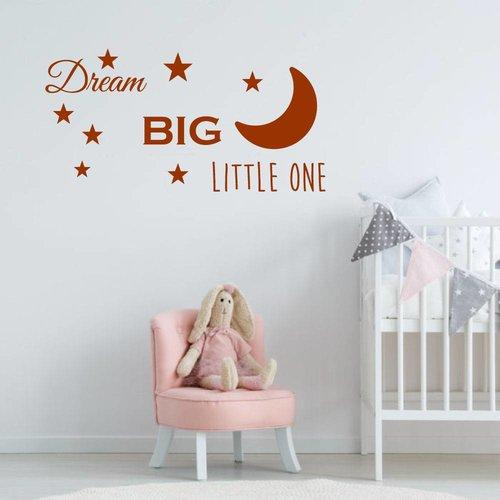 Muursticker Dream big little one