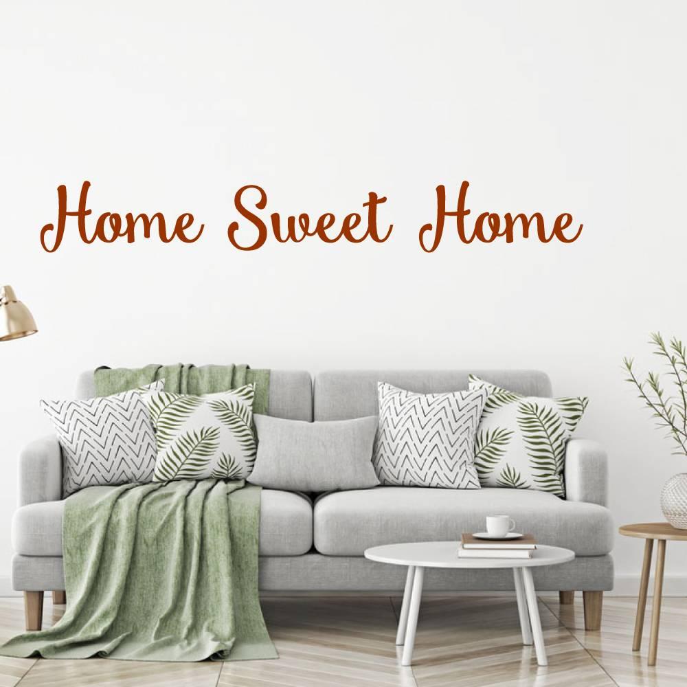 Muursticker Home Sweet Home.Muursticker Home Sweet Home Muursticker4sale