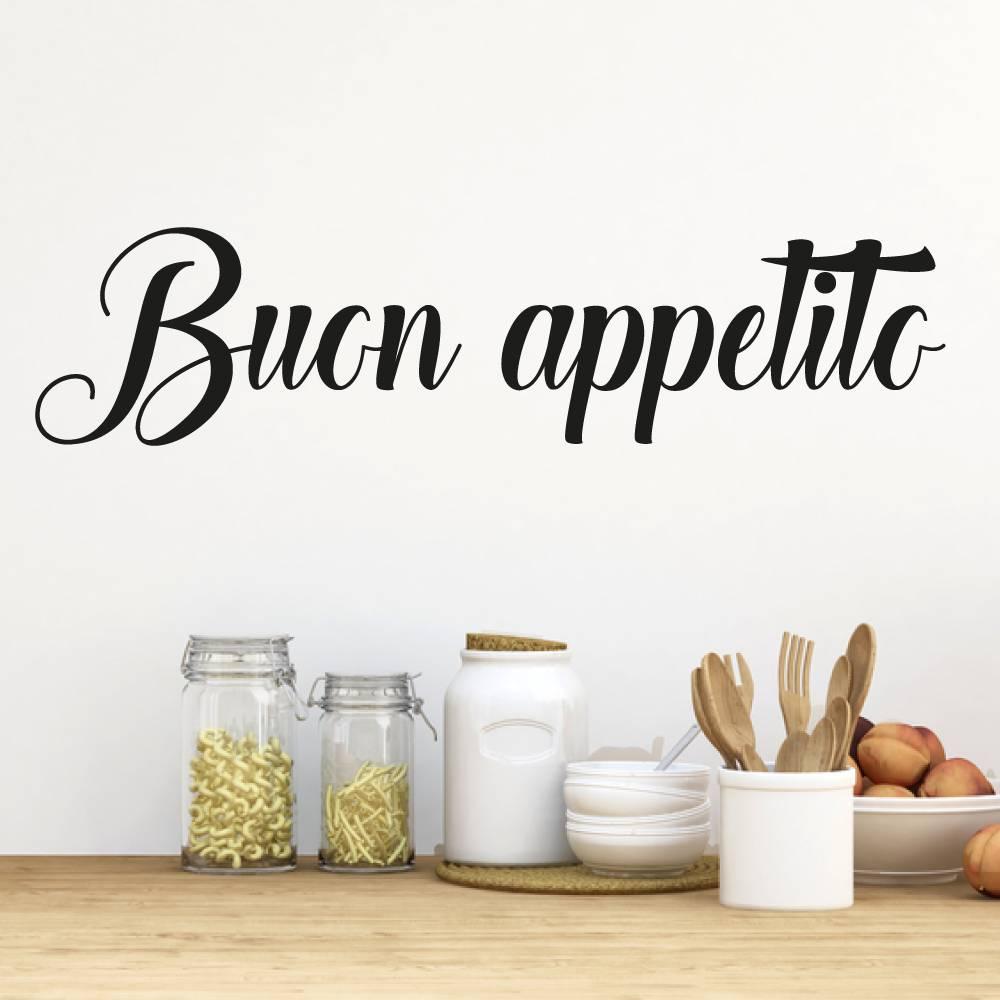 Muursticker Buon appetito