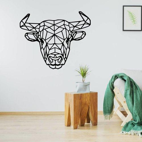 Origami muursticker hooglander