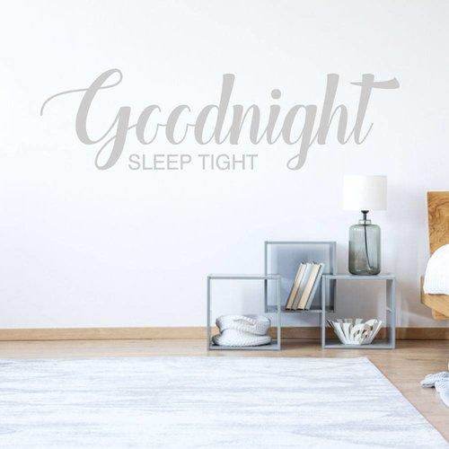 Slaapkamer sticker Goodnight sleep tight