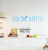 Muursticker Bon Appétit