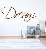 Muursticker Dream