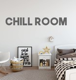 Muursticker Chill room