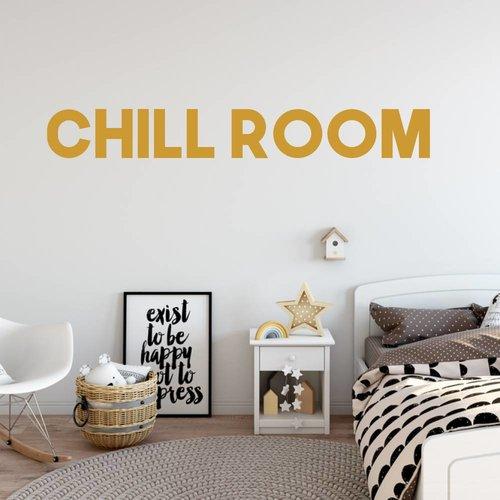 Muursticker Chill room