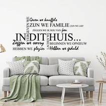 Tekst Op Muur.Muurstickers Met Nederlandse Tekst Voor Elke Woonruimte Muursticker4sale