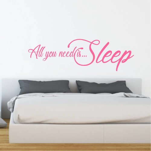 Muursticker All you need is sleep
