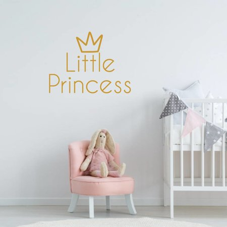 Muursticker Little Princess