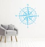Muursticker Kompas