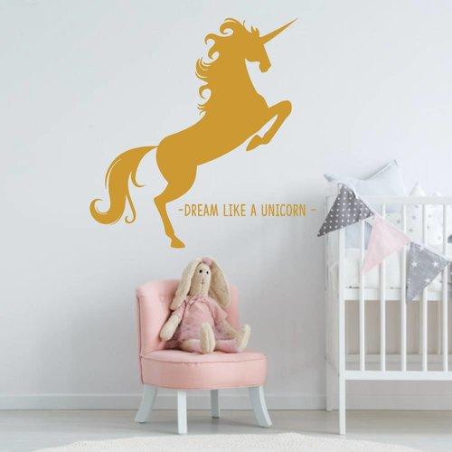Muursticker Unicorn