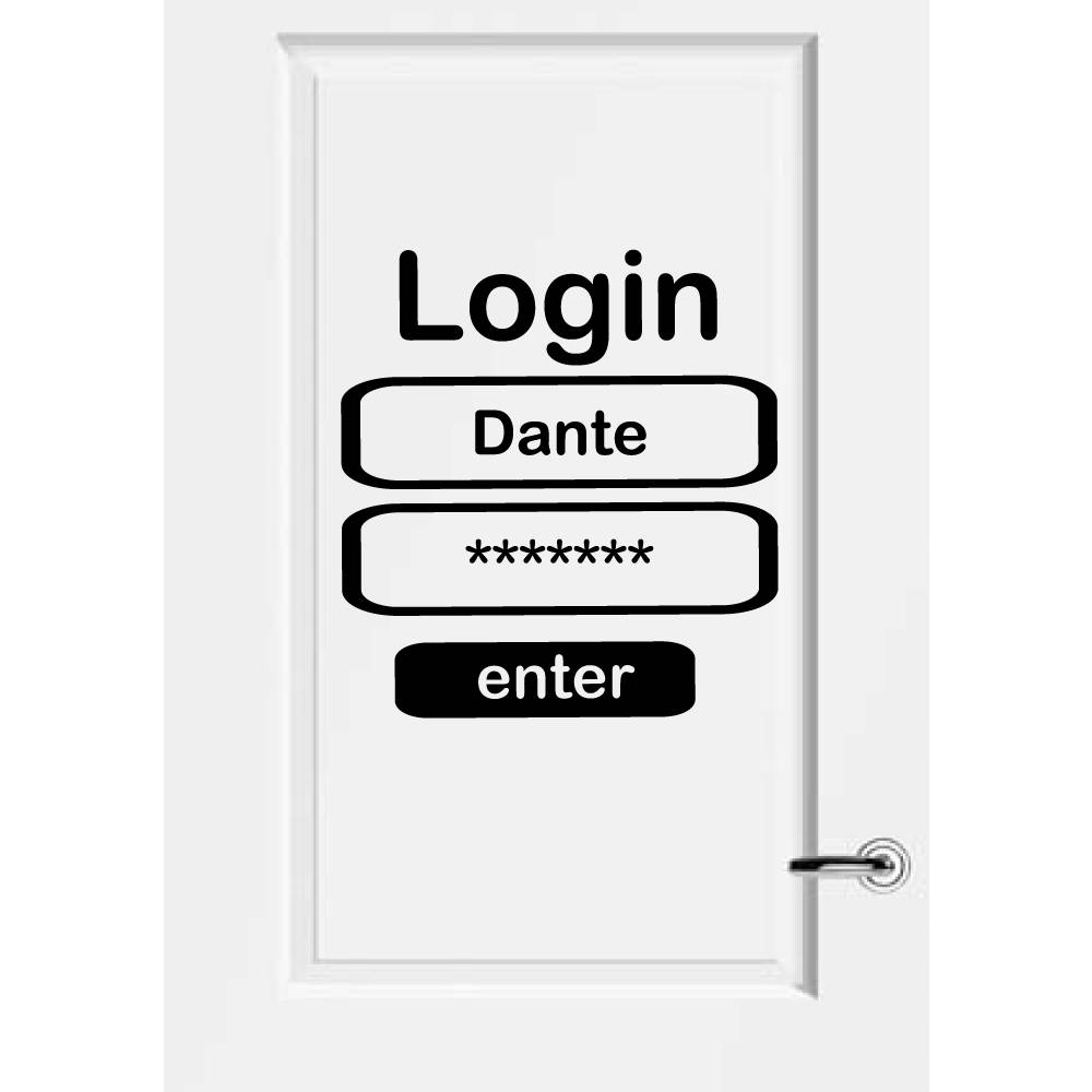Deursticker Login