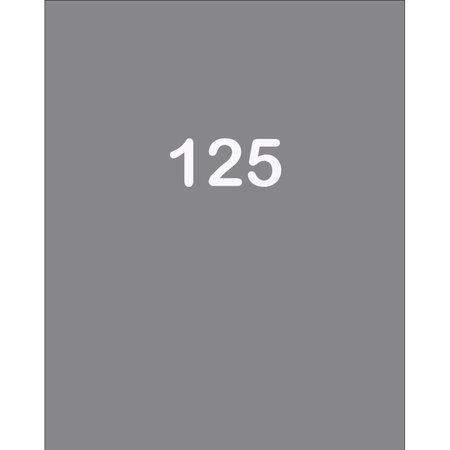 Raamfolie huisnummer