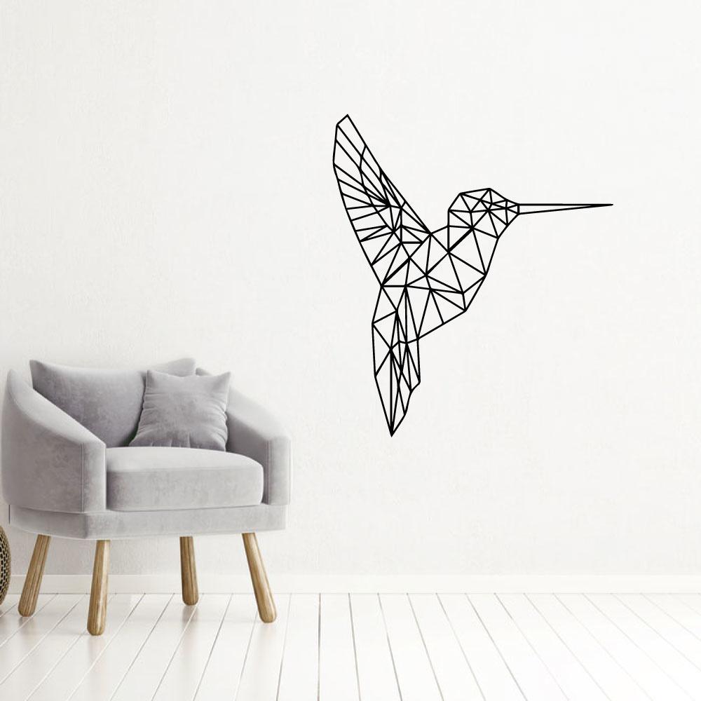 Muursticker Kolibri