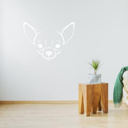 Muursticker chihuahua