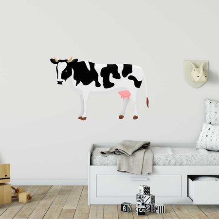 Muursticker koe