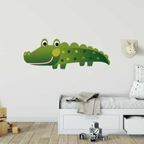 Muursticker krokodil