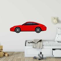 Muursticker Porsche 911