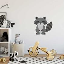 Muursticker wasbeer