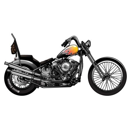 Muursticker Motor