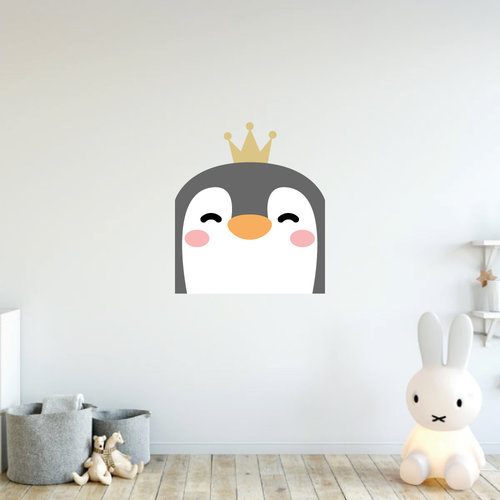 Muursticker pinguin