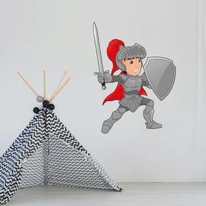 Muursticker ridder