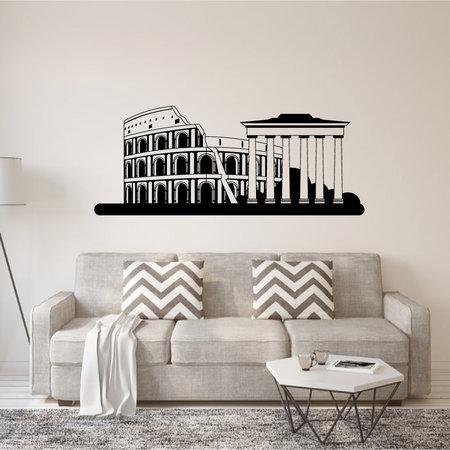 Muursticker Italië Rome